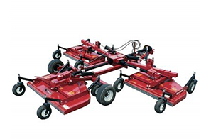 Bush Hog Tri Deck Finishing Mowers