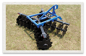 Bush Hog Lift Disc Harrow 1D Series