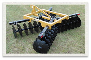 Bush Hog Lift Disc Harows 3D Series