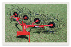Bush Hog Lift Wheel Hay Rake