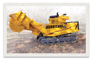 Carlton Hurricane TRX Series Stump Cutter