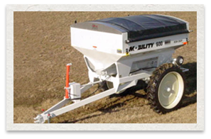 Dalton Ag Mobility 600 Row Crop Ajustable Dry Fertilizer