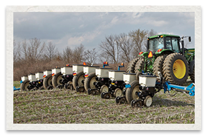 Kinze 3200 Series Wing Fold Planter