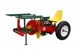 Mechanical Transplanter Plastic Mulch Transplanter Model 900