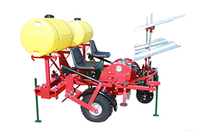 Mechanical Transplanter Plastic Mulch Transplanter Model 912T
