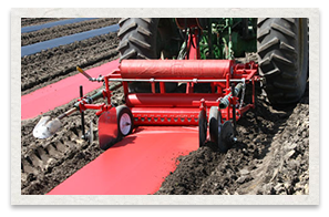 Mechanical Transplanter Mulch Layer Deluxe Model 92