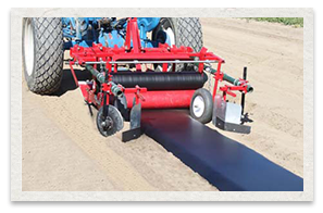 Mechanical Transplanter Bed Shaper and Mulch Layer Model 92B