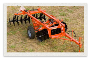 Monroe Tufline 38 Offset Wheel Disc Harrow