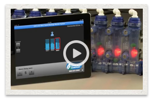 video of the CDS John Blue Liquid Blockage Monitor System being used in 2014