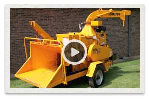 video of the Carlton Model 2518 Drum Chipper being used